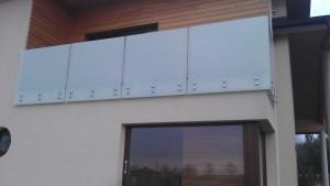 Balustrada mocowana punktowo